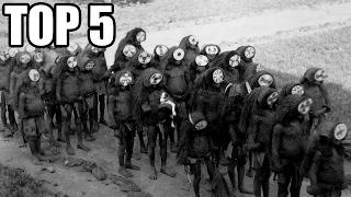 TOP 5 - Děsivých historických fotografií