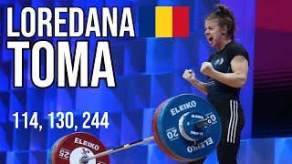 Loredana Toma (64kg ROU) European Weightlifting Champion l Moscow 2021