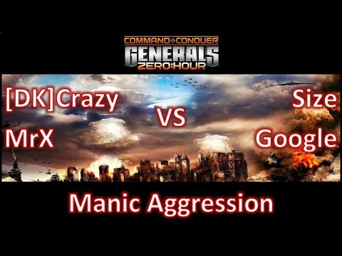 Zero Hour - 2vs2 - [DK]Crazy, MrX Vs Size, Google - Manic Aggression