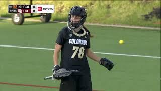 Colorado at No. 15 Denver Highlights