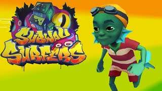 Subway Surfers World Tourn Chilling Cambridge - Halloween New Characters Gameplay Walkthrough