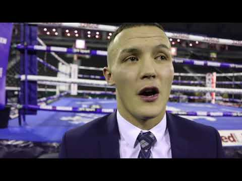 'ITS PERSONAL WITH LEE SELBY - I WANNA GIVE HIM ONE OF THESE!' - JOSH WARRINGTON AFTER FRAMPTON WIN