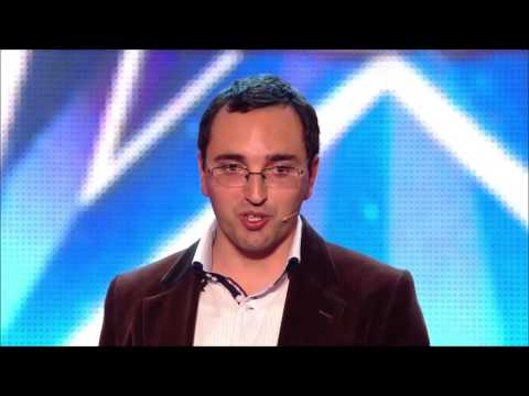 Homem Eco dá espectáculo no concurso Britain's Got More Talent 2014