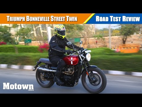 2017 Triumph Street Twin motorcycle review