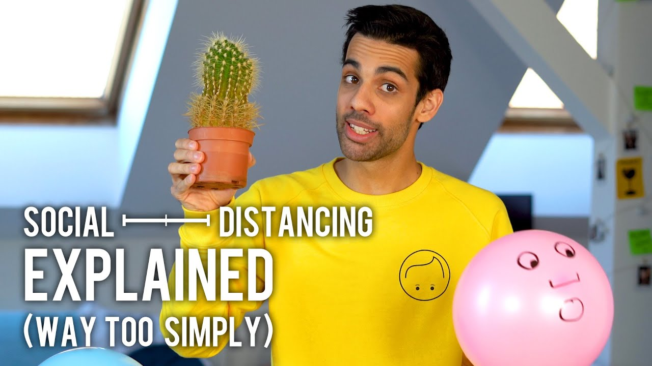 Social Distancing Explained (Way Too Simply)