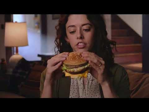 Cherish - McDonalds Big Mac Super Bowl 2018 TV Commercial thumbnail