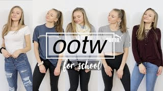 OUTFITS OF THE WEEK For School 2018!