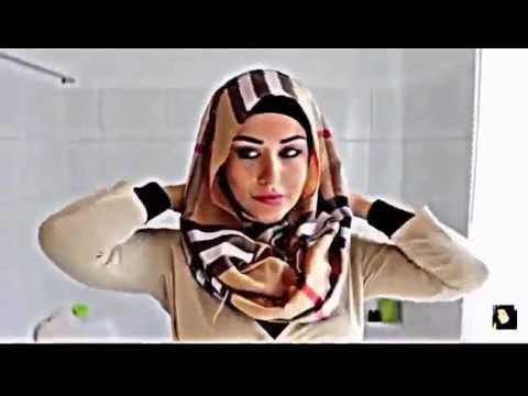 طريقة لف الحجاب مع النظارات 2015 | Hijab Tutorial