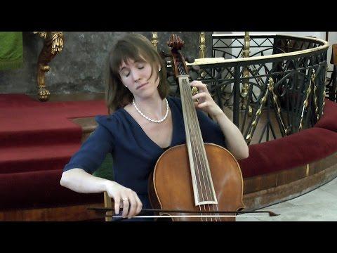 J. S. Bach: E-DÚR PARTITA (BWV 1006) - Rohmann Ditta (violoncello piccolo)