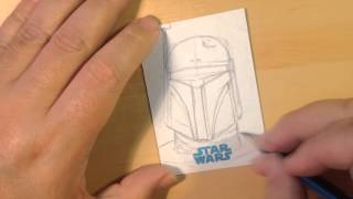 Making Comics with The 8 Spot #4 Sketch cards