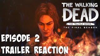 """The Walking Dead:Season 4: """"The Final Season"""" Episode 2 Trailer Reaction - (Telltale Games)"""