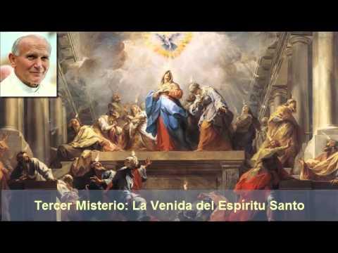 Rosario con el Papa Juan Pablo II - Misterios Gloriosos