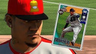 DIAMOND FELIX HERNANDEZ DEBUT!! MLB THE SHOW 18 DIAMOND DYNASTY