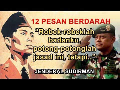 PILU..!!! 12 Pesan Jenderal Sudirman untuk Panglima Gatot Nurmantyo dan TNI