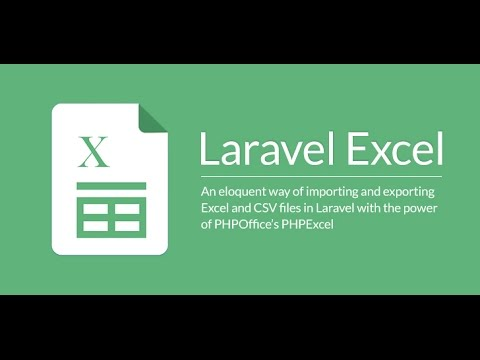 Install package Laravel Excel 2 1 8 PHPExcel in laravel 5 For parsing excel  file