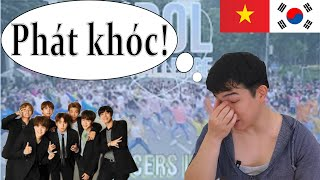 """""""Reaction"""" BTS """"Idol challange"""" - Oops!crew Dance cover KHÓC NẤC."""