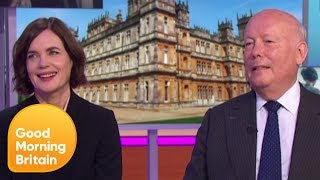 Creator Julian Fellowes on the Eagerly Anticipated Downton Abbey Movie | Good Morning Britain