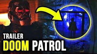 WHAT is Raven Doing?! Meet the DOOM PATROL! - Titans Episode 4 Trailer Breakdown