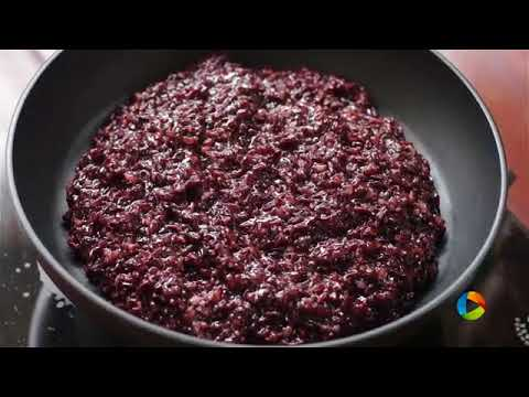Black Rice Pudding Home Cooking