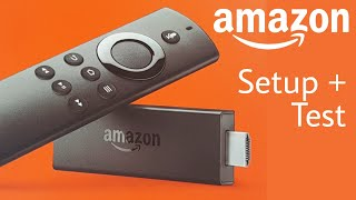 NEW Amazon Fire TV Stick with Alexa Voice Remote Setup Test