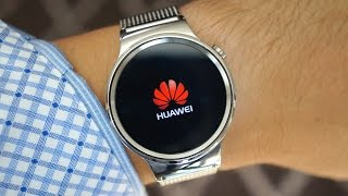Huawei Watch Hands-On: Putting the