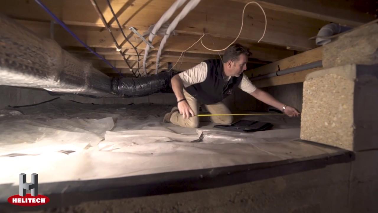 Crawle Encapsulation From Helitech Waterproofing Foundation Repair