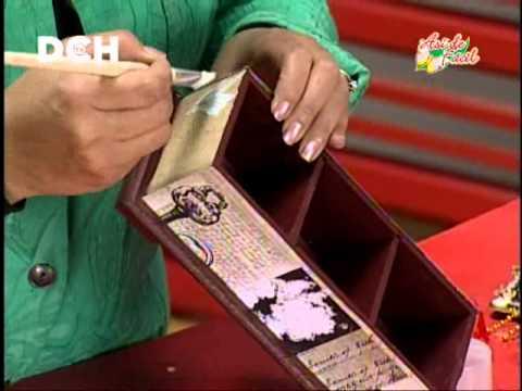 Caja vintage youtube - Como decorar cajas de madera estilo vintage ...