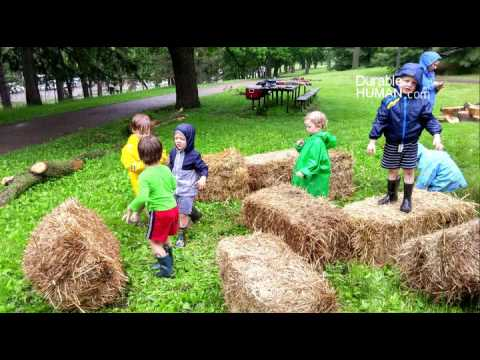 Natural Playgrounds Good for Kids