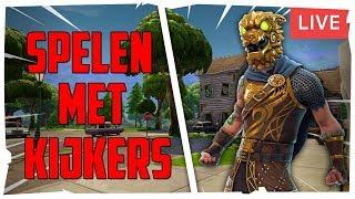 [LIVE] Spelen Met Kijkers! // E-SPORTS PLAYER \\ FORTNITE BR [NL]