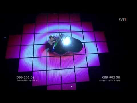 Salem al Fakir - Keep on Walking (Live - Semifinal 1, Melodifestivalen / Eurovision 2010)