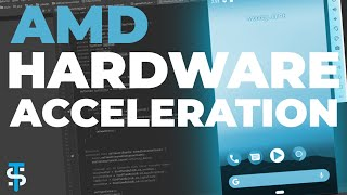 How to enable AMD Hardware Acceleration for Android Studio x86 Emulator