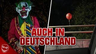 Rote Luftballons in Deutschland kündigen neue Horror Clowns an!