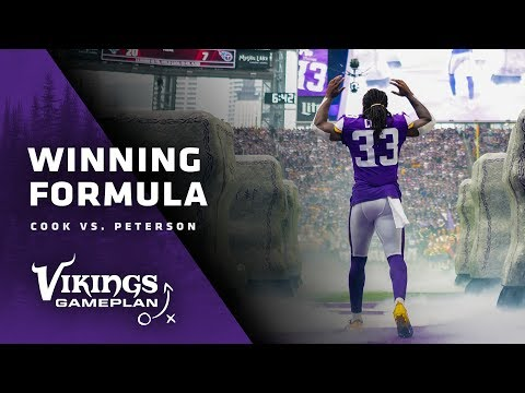 Winning Formula: Comparing Dalvin Cook To Adrian Peterson | Minnesota Vikings