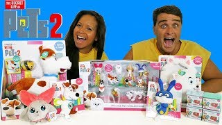The Secret Life of Pets 2 Toy Challenge !  || Toy Review || Konas2002