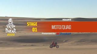 Dakar 2020 - Étape 1 (Jeddah / Al Wajh) - Résumé Moto/Quad