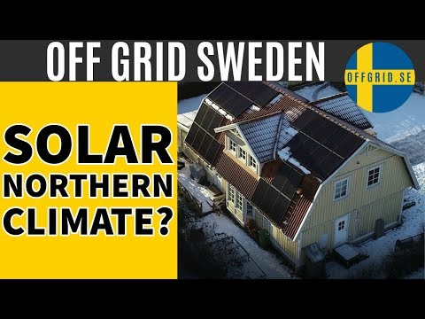 Solar Power In Northern Climate