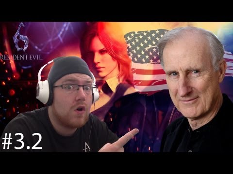 Let's play: Resident Evil 6 part 3.2 President James Cromwell