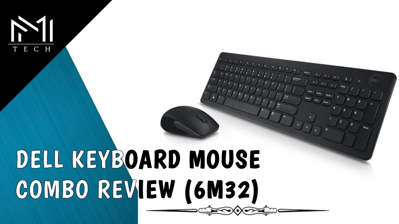 09a9400fb42 Dell Keyboard Mouse (KM632) Review - YouTube