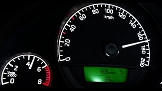 Skoda Citigo acceleration top speed test [HD]