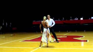 2016 Rutgers Ballroom Competition Rumba Showcase by Nikita and Nadezda