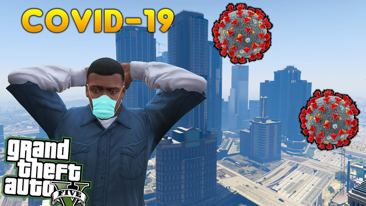 Coronavirus in GTA 5 ( FULL MOVIE 2020 )