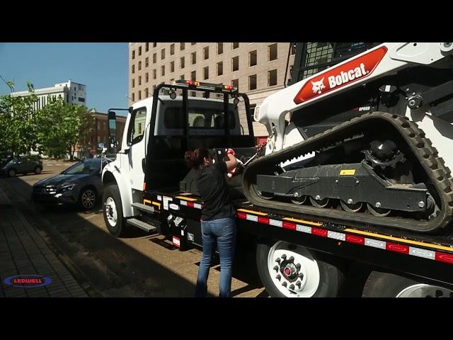 Ledwell HydraTilt Truck  - Perfect for Bobcat Dealers