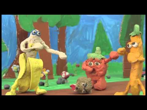 """""""Ne nous mangez pas"""" - Film animation en pâte à modeler - YouTube"""