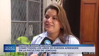 Inician los cursos intensivos de verano en la Facultad de Lenguas