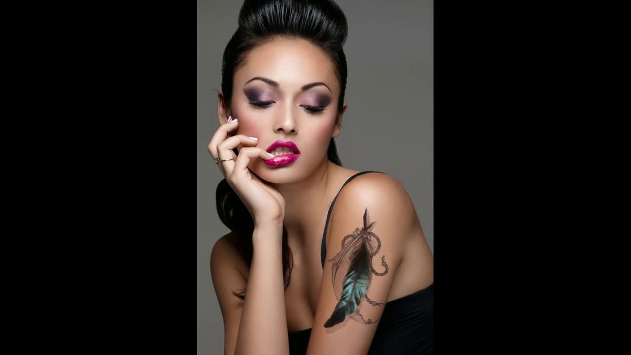 Upper Arm Tattoos For Women Youtube