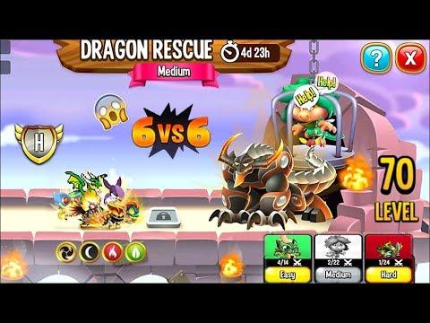 NEW! Dragon Rescue Event: Battle 6 vs 6 Dragon City | First Looks 2019 馃槏