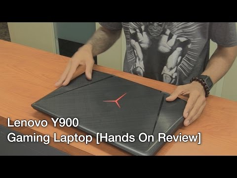 Lenovo Y900 - Best Gaming Laptop? [Hands On Review]