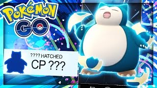 INSANELY POWERFUL SNORLAX - Pokemon Go