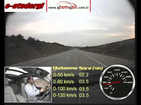Test: BMW 530d GT XDrive (0-100 Km/s, 100-0 Km/s)