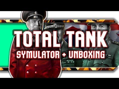 🔥 Unboxing skrzyni od Noobz From Poland / Wrażenia z Total Tank Simulator